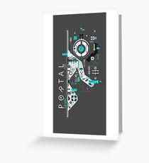 Portal Love Greeting Card