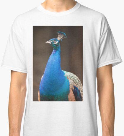 Male Indian Peafowl Classic T-Shirt