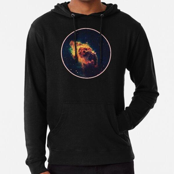 Weltraumuniversum Nebel Leichter Hoodie
