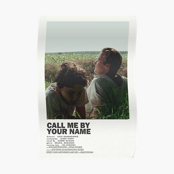 Llamame por tu nombre Póster