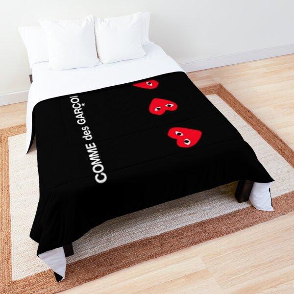 cdg garcon2, comme, des, garcons, play, comme des garcons play, comme des garcons, m0ncler, heart, valentine, trendy, new york city, paris, case Case & Skin Comforter