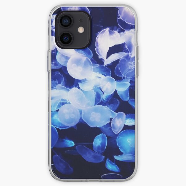 Moon Jellyfish iPhone Soft Case