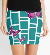 Ocean Butterflies Part 1 - Teal Mini Skirt