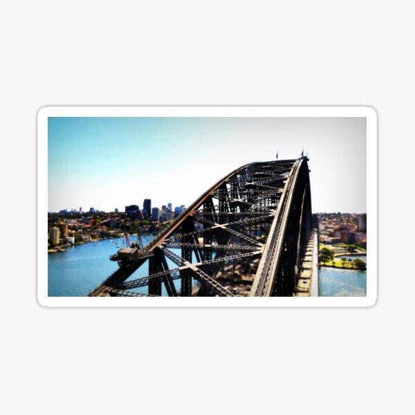 Harbour Bridge Up The Pylon Sticker