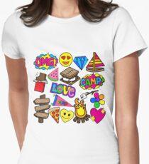 Lagerzeit Tailliertes T-Shirt