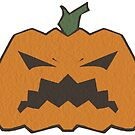 Angry Pumpkin by Erin Stilwell