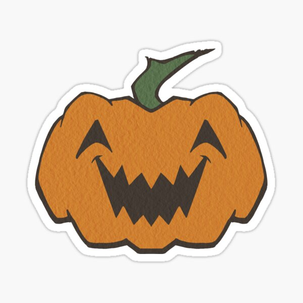 Happy Pumpkin Sticker