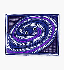Gravitational Waves COLORIZED HALF-TONE Photographic Print