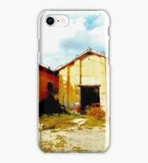 Island Caprera: military archeology iPhone Case/Skin