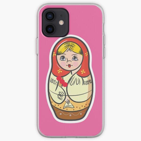 Babushka Doll iPhone Soft Case