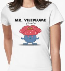 Mr. Vileplume Women's Fitted T-Shirt