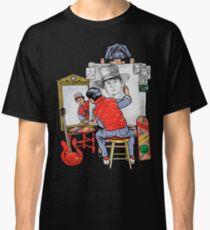 Marty Future Self Portrait Classic T-Shirt