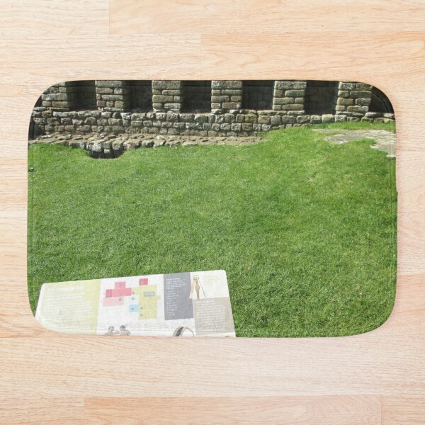 M.I. #112 |☼| The Changing Hall - Shot 1 (Hadrian's Wall) Bath Mat