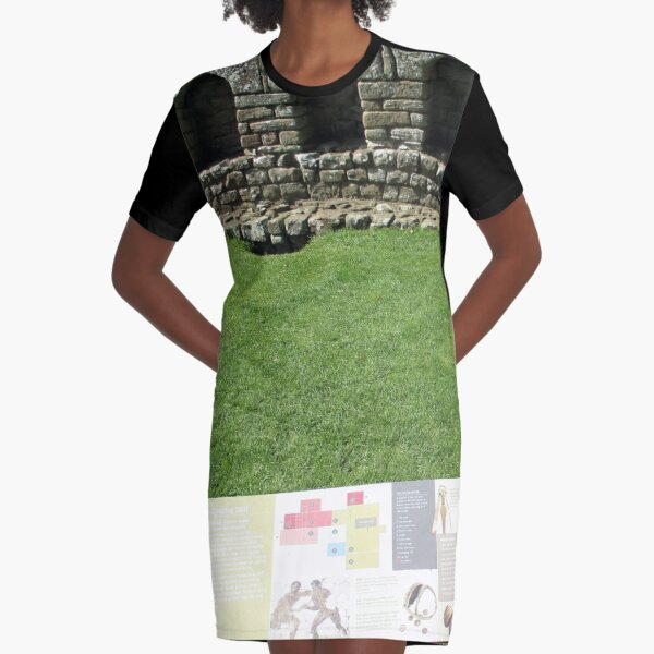 M.I. #112 |☼| The Changing Hall - Shot 1 (Hadrian's Wall) Graphic T-Shirt Dress