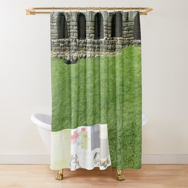 M.I. #112  ☼  The Changing Hall - Shot 1 (Hadrian's Wall) Shower Curtain