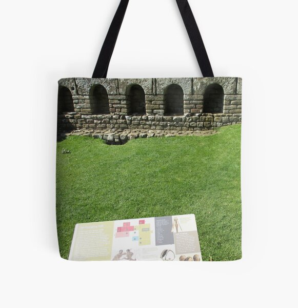 M.I. #112 |☼| The Changing Hall - Shot 1 (Hadrian's Wall) All Over Print Tote Bag