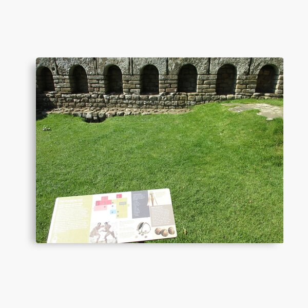 M.I. #112  ☼  The Changing Hall - Shot 1 (Hadrian's Wall) Canvas Print