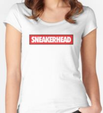 Sneakerhead Bred Women's Fitted Scoop T-Shirt
