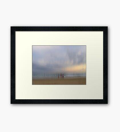 Watching the Light Fade Away Framed Print