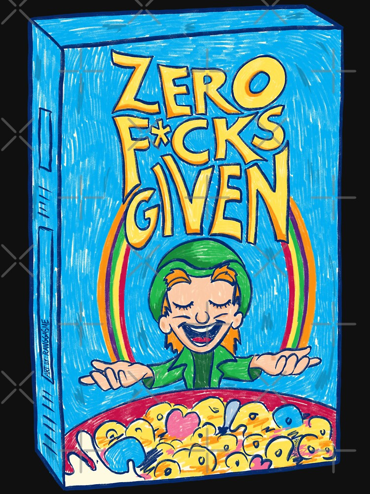 Zero Fucks Given (Black) by Ranggasme