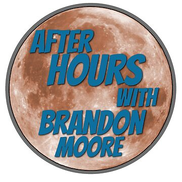 After Hours with Brandon Moore Stickers  by GooGooMuck