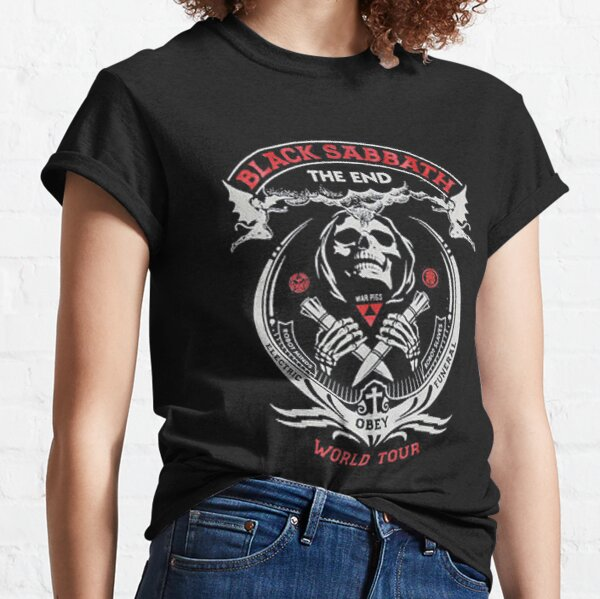 Best to Buy - Black Skull and Red Classic T-Shirt