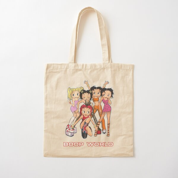 Betty Boop Spice Girls Boop World Spice World Parody Cotton Tote Bag