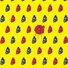 Bloody Heart Pattern by thejoyker1986