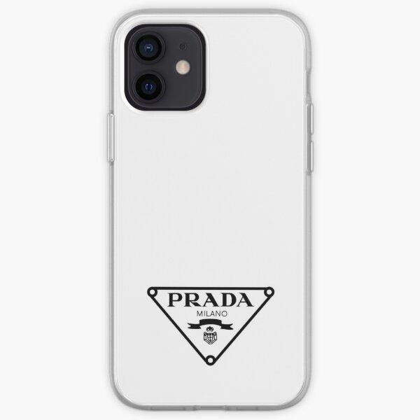black and white designer  iPhone Soft Case