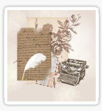 A Writer's World Sticker