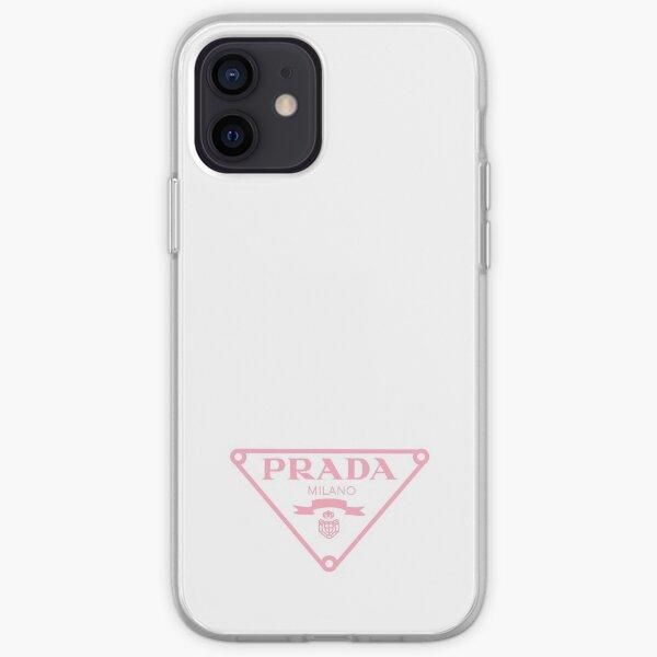 pink designer  iPhone Soft Case