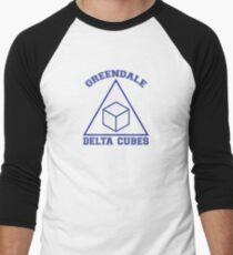 Greendale Delta Cubes Frat Men's Baseball ¾ T-Shirt