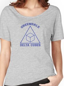 Greendale Delta Cubes Frat Women's Relaxed Fit T-Shirt