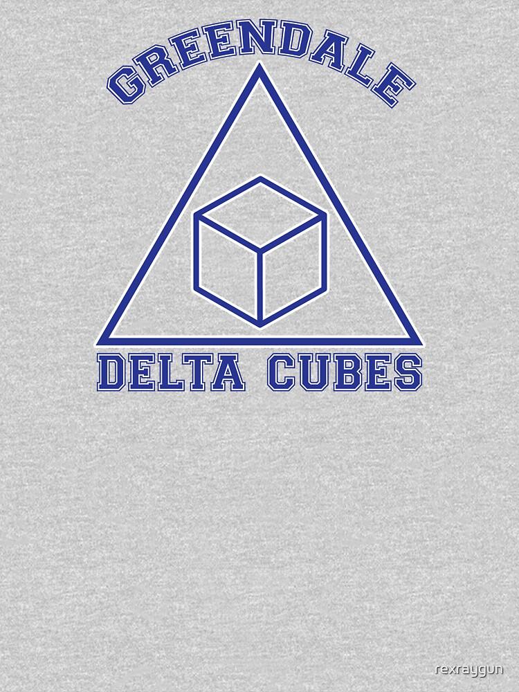 Greendale Delta Cubes Frat | Unisex T-Shirt
