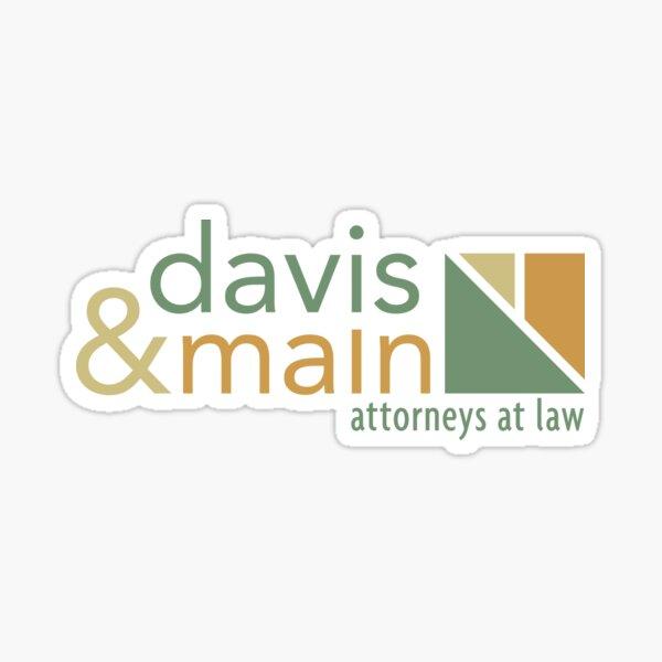 davis & main Sticker