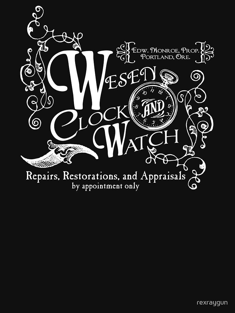 Wesen Clock and Watch Repair | Unisex T-Shirt