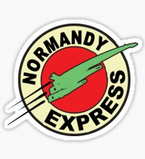 The Planet Express Parody: Mass Effect Sticker