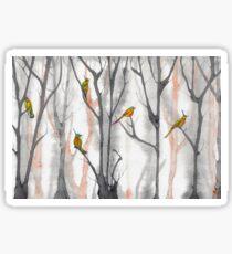 orange trees  Sticker