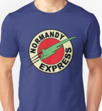 The Planet Express Parody: Mass Effect Unisex T-Shirt