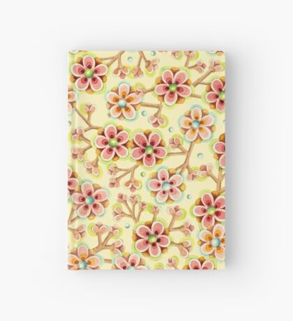 Candy Apple Blossom Hardcover Journal