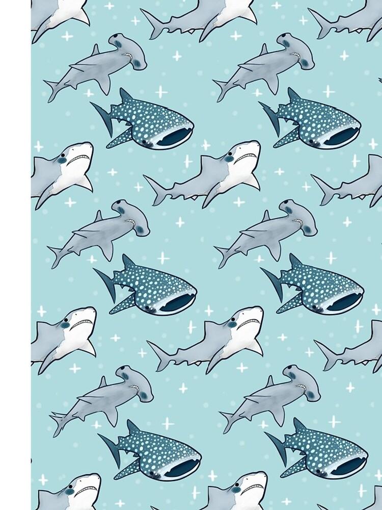 Shark Pattern by wizarddog