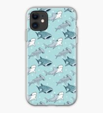 Shark Pattern iPhone Case
