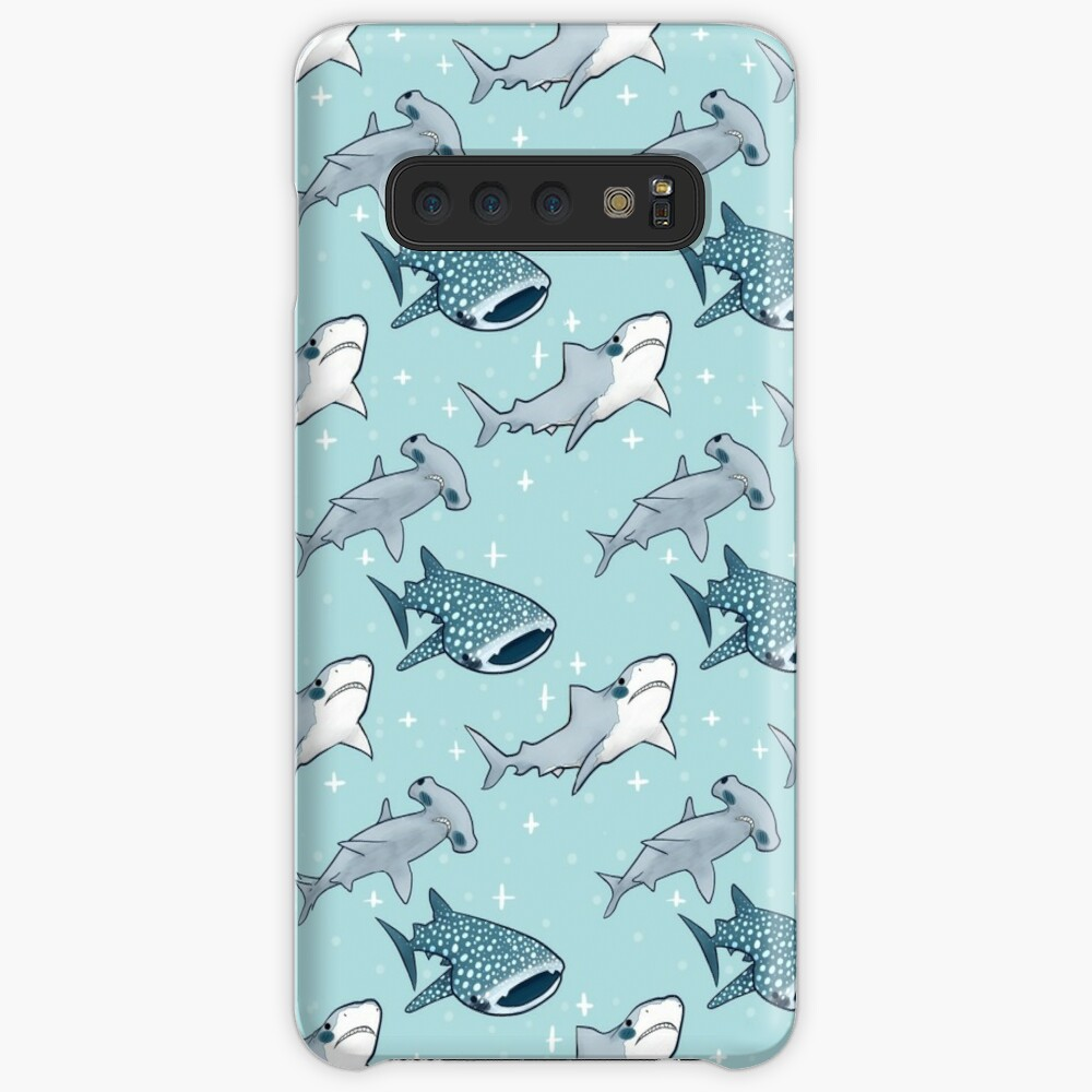 Shark Pattern Case & Skin for Samsung Galaxy