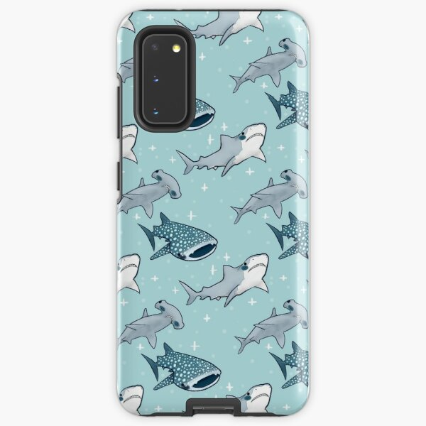 Shark Pattern Samsung Galaxy Tough Case