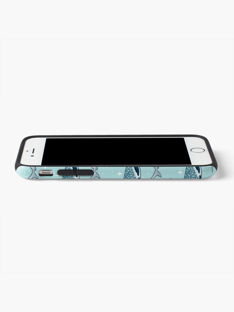 Alternate view of Shark Pattern iPhone Case & Cover