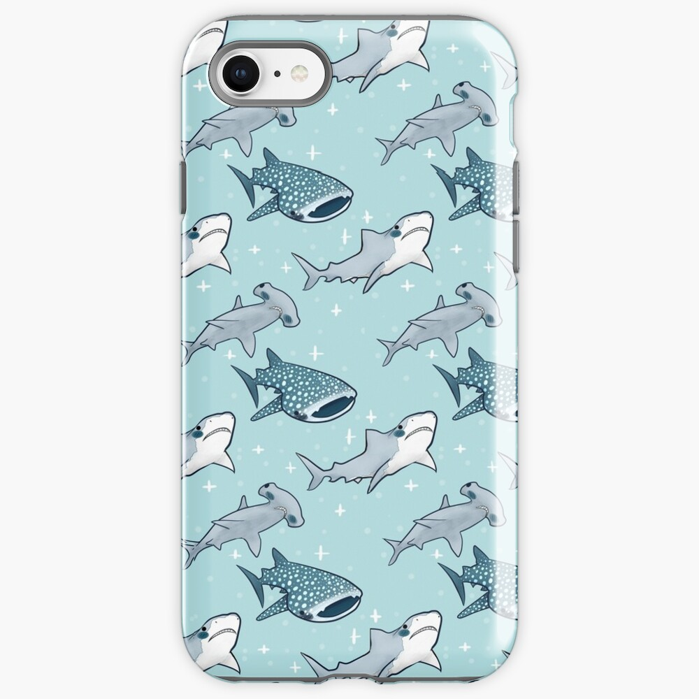 Shark Pattern iPhone Case & Cover