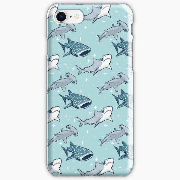 Shark Pattern iPhone Snap Case