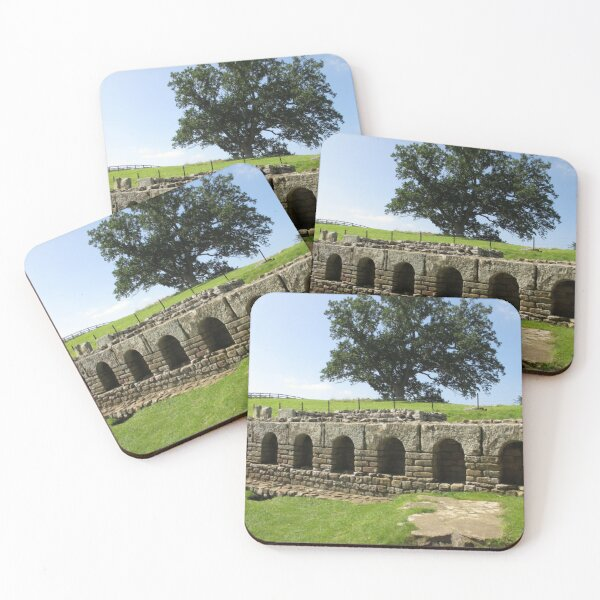 M.I. #113  ☼  The Changing Hall - Shot 2 (Hadrian's Wall) Coasters (Set of 4)