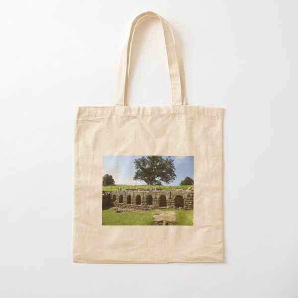 M.I. #113 |☼| The Changing Hall - Shot 2 (Hadrian's Wall) Cotton Tote Bag