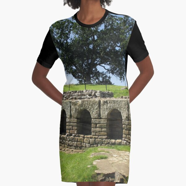 M.I. #113 |☼| The Changing Hall - Shot 2 (Hadrian's Wall) Graphic T-Shirt Dress